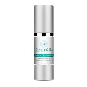 Derma Glo Advanced Skin Care- Ageless Eye Revitalizer- With Aloe Vera and Passionfruit Extract- 0.5oz/15ml