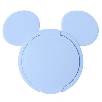 Ioffersuper 1 Pcs Reusable Baby Wet Paper Wipes Tissue Box Lid Clamshell Wet Paper lid Accessories Blue Mickey