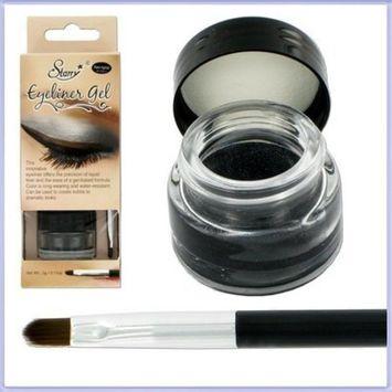 Starry Long Lasting Waterproof Eyeliner Gel Black Mercedes Charcoal Slate Eye Liner