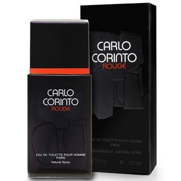 Carlo Corinto Rouge By Carlo Corinto For Men. Eau De Toilette Spray 3.3 Ounces