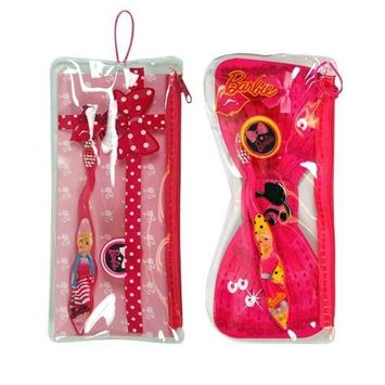 Barbie Toothbrush in PVC Pouch - Assorted