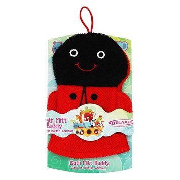 Bath Mitt Buddy Ladybug