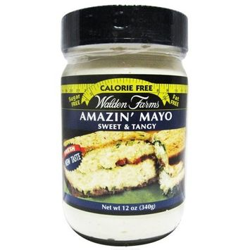 Walden Farms Amazin' Mayo - Sugar Free, Calorie Free, Fat Free, Carb Free, Gluten Free - 2 Bottle [Amazin' Mayo]