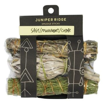 Smudge Sticks Sage, Mugwort and Cedar