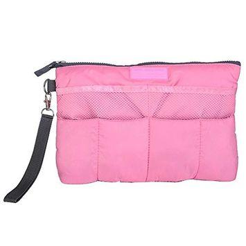 EYX Formula New Makeup Bag Inset Organizer Bag Package Pocket,Cosmetic Bag Organizer Purse Bag in Bag for Storing.