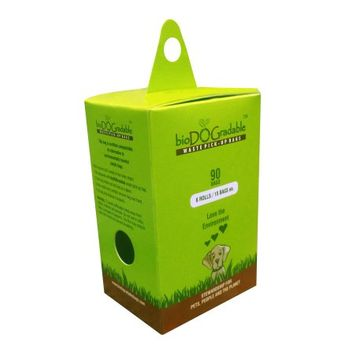 Prosourcing Inc bioDOGradable Dog Waste Bags- 90 Folded Bags