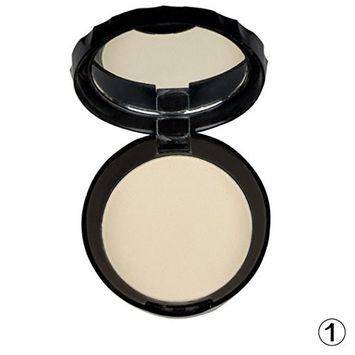 Creazy Beauty Face Pressed Powder Compact Matte Contour Foundation Makeup Skin Set