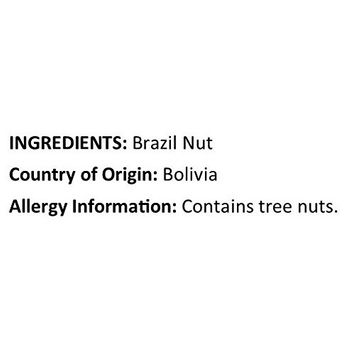 Anna and Sarah Brazil Nuts Raw Shelled Whole Pieces in Resealable Bag, 3 Lbs