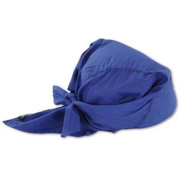 Ergodyne Blue Cool Triangle Hat 12587
