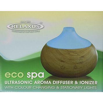 Eco-spa Ultrasonic Aroma Diffuser & Ionizer. Optional Color Changing Lights