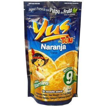 Melher, S.a. Yus Orange Powder Drink 12.7 oz - Agua fresca sabor a Naranja (Pack of 12)