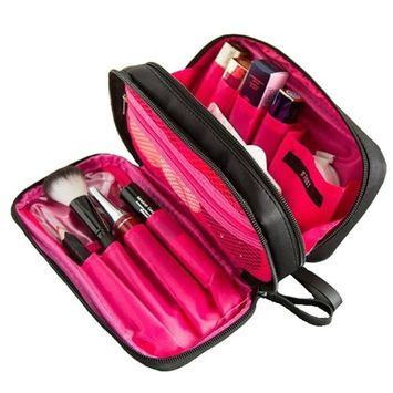 BiKooLi Travel Portable Mini Cosmetic Bag Beauty Makeup Case for Women