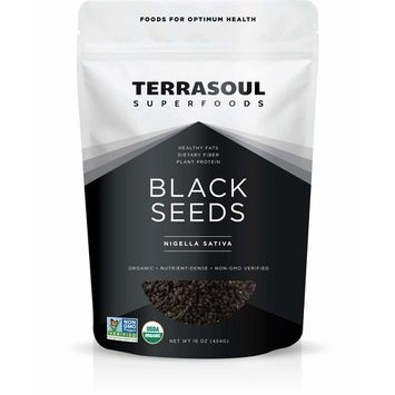 Terrasoul Superfoods Organic Black Cumin Seeds (Nigella Sativa), 1 Pound