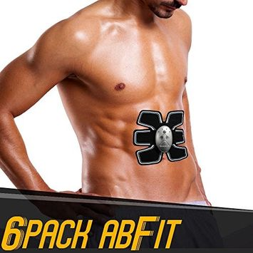 Medex Hi-Intensity 6 Pack AbFit Electro Muscle Abdominal Trainer - Get Your Abs FIT, Anytime Anywhere!