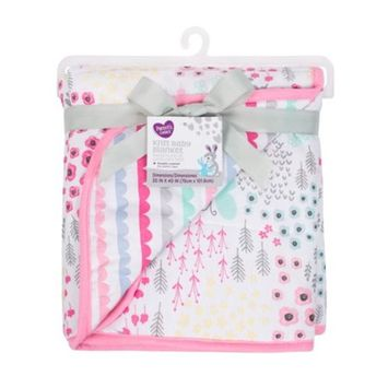 Parent's Choice Jersey Knit Blanket, Pink