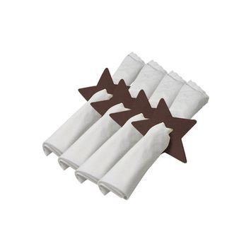 Felt Star Napkin Holder: Set of 4 Pieces