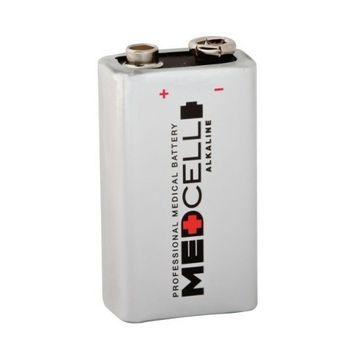 Medline MPHB9V Medcell Alkaline Batteries, 9V (Pack of 72)
