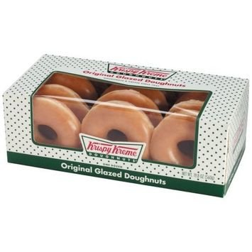 Krispy Kreme Original Glazed Doughnuts - 12 Donuts