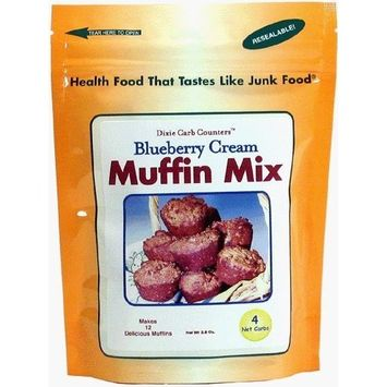 Dixie Carb Counters Blueberry Cream Muffin Mix [Blueberry Cream]