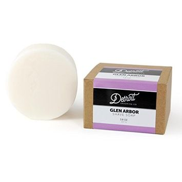 Glen Arbor - w/Shea Butter & Soy Soothing Shave Soap - Lavender Scent - Detroit Grooming Co.