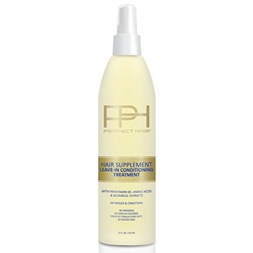 Hair Supplement Leave In Conditioner, 12 OZ w/ProVitamin B5, Amino Acids and Botanical Extracts