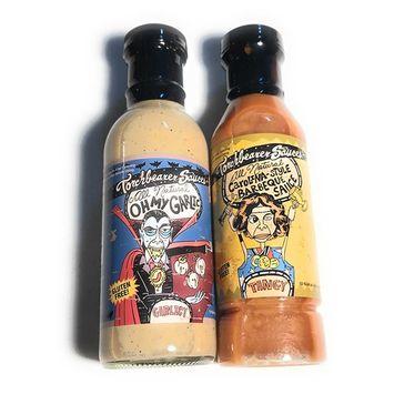 All Natural Carolina-Style Barbeque Sauce and Oh My Garlic Sauce Set