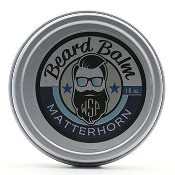 Beard Balm 1oz Tin - Made with All-Natural, Vegan Oils and Butters
