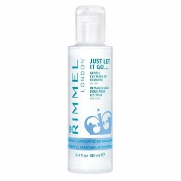 (3 Pack) RIMMEL LONDON Gental Eye Makeup Remover - Clear: Health & Personal Care