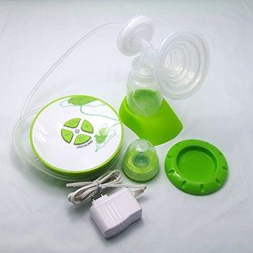 Gland Single Electric Breast Pump Breastfeeding Pump for Nursing Moms BPA Free, Green