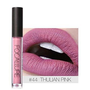 DZT1968 1PC/6g FOCALLURE New 12 color Lipstick Cosmetics Women Sexy Lips Matte Lip Gloss Party