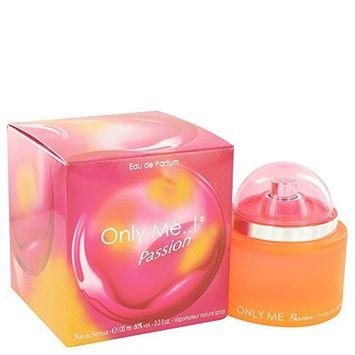 Only Me Passion by Yves De Sistelle Eau De Parfum Spray 3.3 oz for Women - 100% Authentic