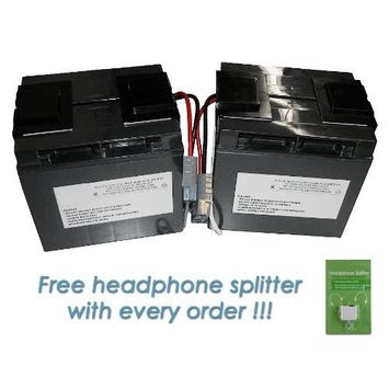 Sealed Lead-Acid battery for APC SLA11-BTI 12V, 18Ah
