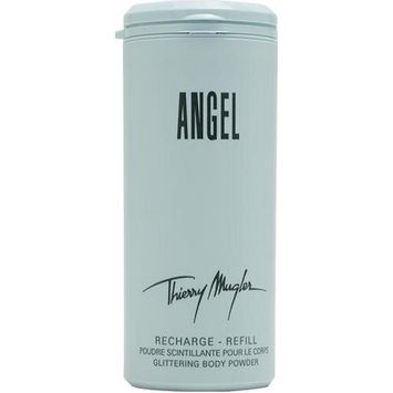 Angel By Thierry Mugler Glittering Body Powder Refill for Women, 2.7 Ounce