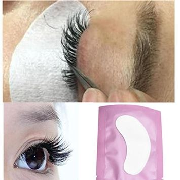 Usstore 50 Pair Lint Free Under Eye Gel Collagen Patches Pads For Lash Eyelash Extension