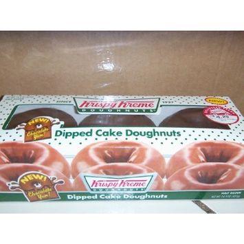Krispy Kreme 6 Count Dipped Cake Doughnuts Pack of 2