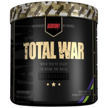 Total War - SOUR GUMMY BEAR (13.89 Ounces Powder) by RedCon1 at the Vitamin Shoppe