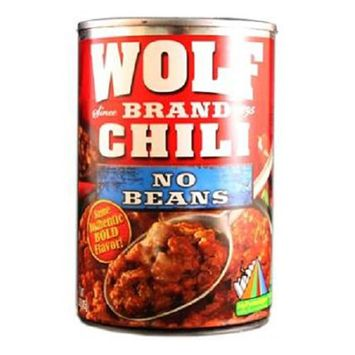 Wolf No Beans Chili, 15 Ounce