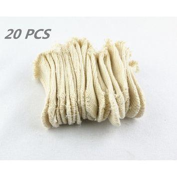 lieomo Cotton Finger Cots Finger Guards Elastic Protection Jewelry Tools Set 20Pcs