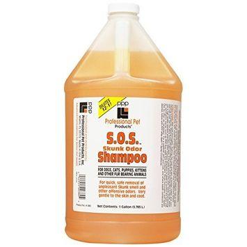 PPP S.O.S. Skunk Odor Small Pet Shampoo, 1-Gallon