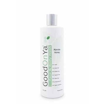 Natural Face and Body Wash, with Manuka Honey, Aloe Vera and Coconut Oil - Organic Skin Care Treatment - Anti Aging Face Wash & Skin Cleanser - Gentle and Safe for Sensitive Skin