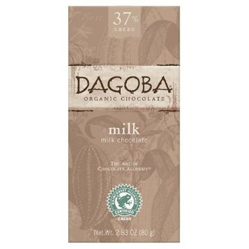 Dagoba Milk Chocolate 2.83 oz