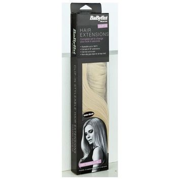 BaByliss 18 Inch Golden Blonde Hair Extensions.