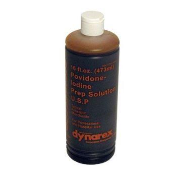 Dynarex Povidone Iodine Prep Solution 16 oz 24/Cs