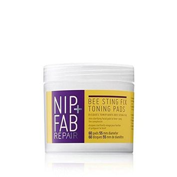 Nip+Fab Bee Sting Fix Toning Pads 80ml (PACK OF 2)