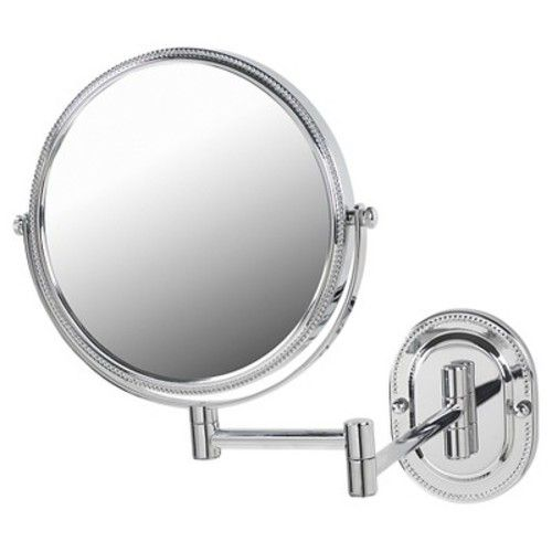 Jerdon 7X-1X Wall Mount Mirror Chrome