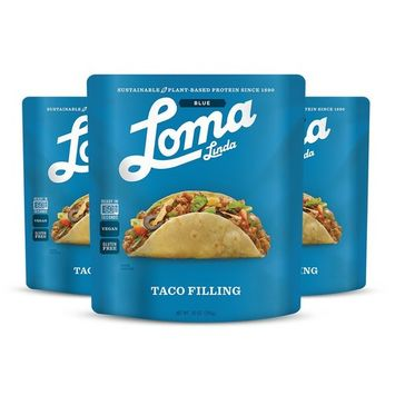 Loma Linda Blue - Plant-Based Meal Solution - Taco Filling (10 oz.) (Pack of 3) - Non-GMO, Gluten Free