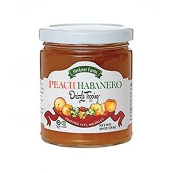 Herkner Farms Peach Habanero Fruit Drizzle Topping [Peach]
