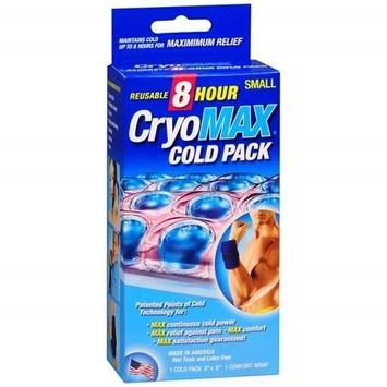 Cryo-Max Reusable 8 Hour Cold Pack, Small(pack of 3)