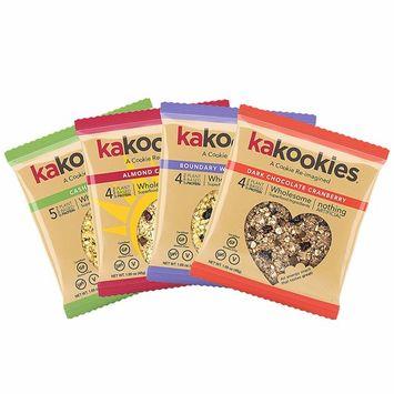 Kakookies Energy Cookies - Assortment (Box of 1 Dozen Cookies) - Vegan, Gluten-Free, Soft-Baked Superfood Snack Cookies