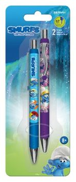 Gel Pen - Smurfs 3 - 2pk New Toys Gifts Stationery iw0111